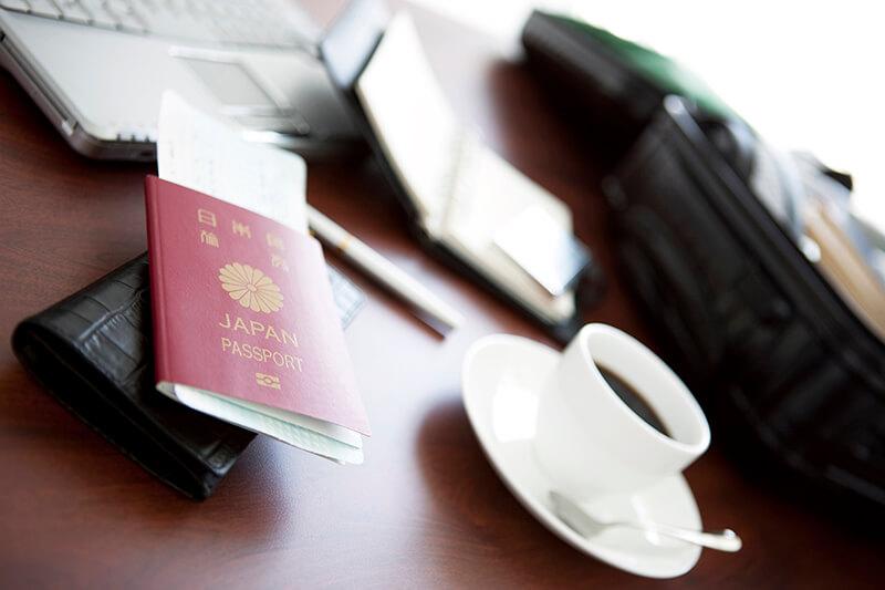 パスポートの申請に必要な書類