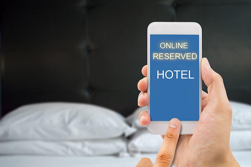 ホテルの予約方法