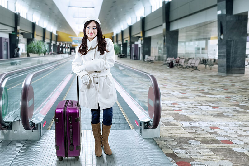 冬の海外旅行で必要な持ち物