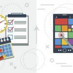 旅のスケジュール管理には、アプリが便利!