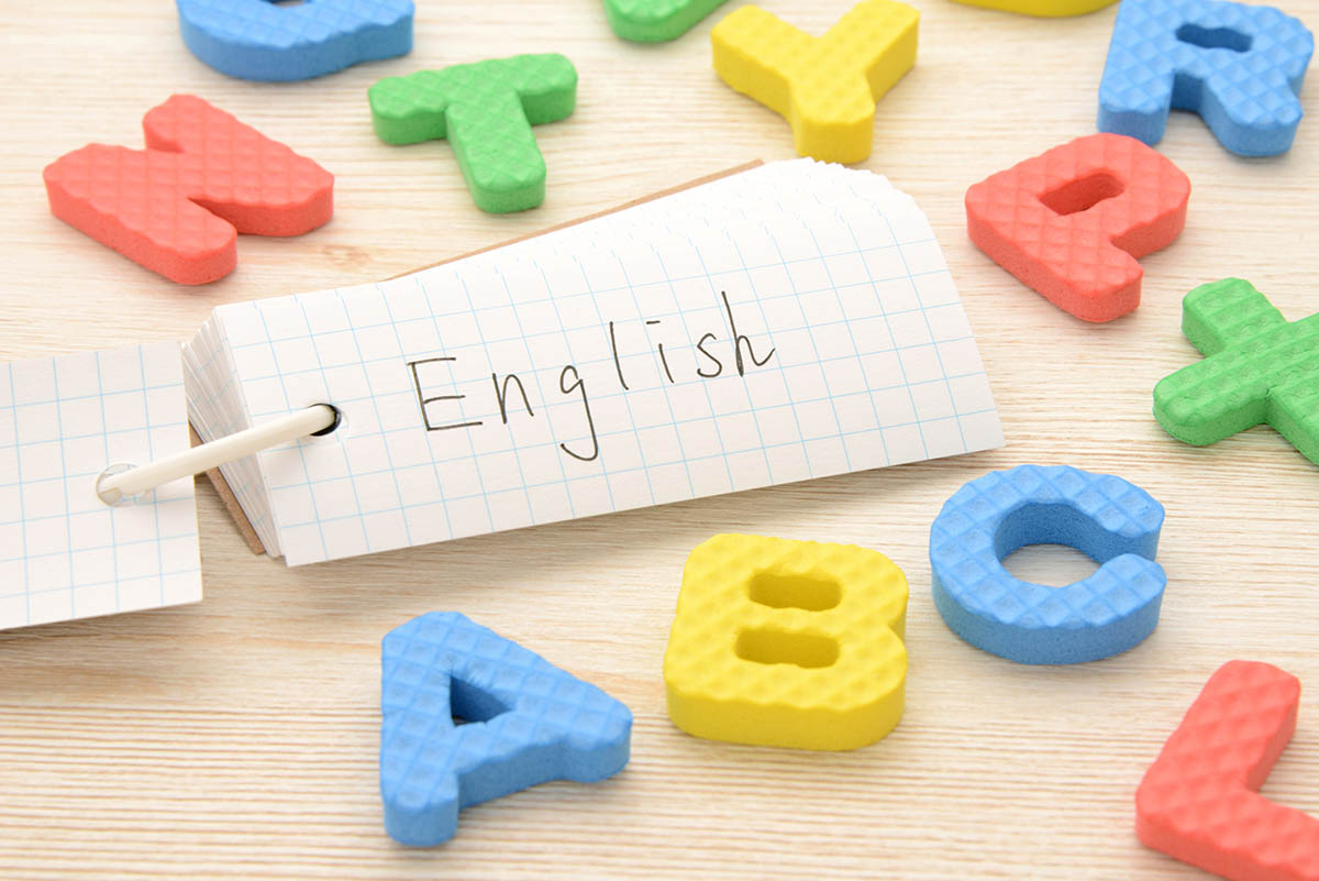 English education concept